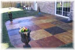 decorative patio coatings