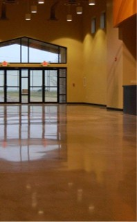 rockford polished concrete floors