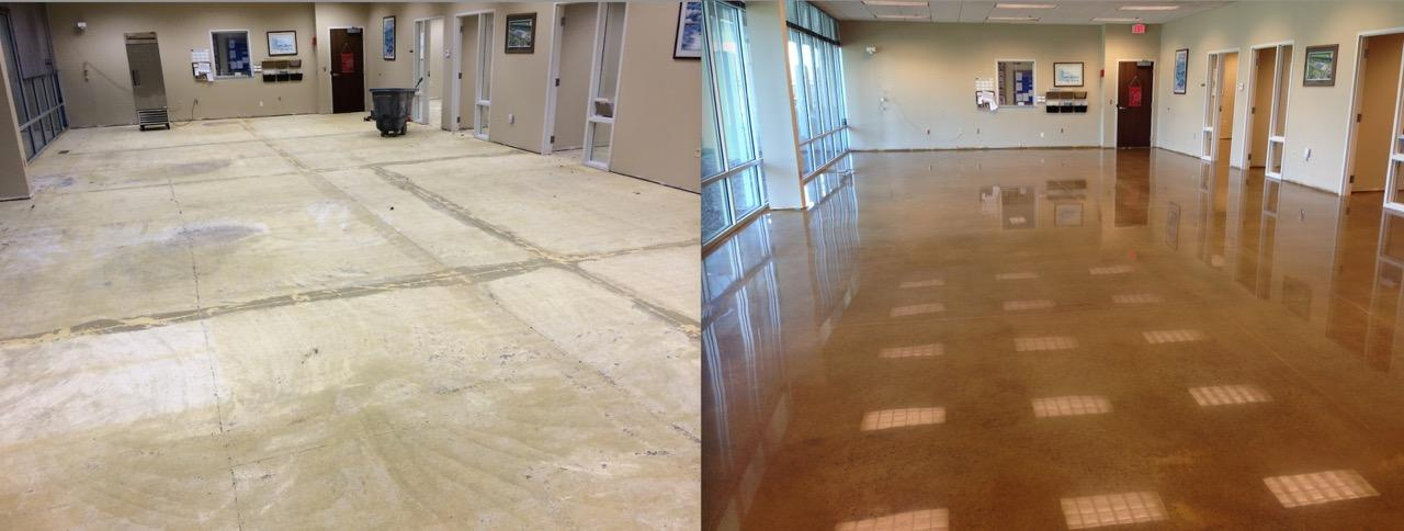 polished concrete allentown
